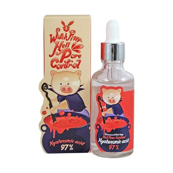 Elizavecca Witch Piggy Hell Pore Control Hyaluronic Acid 97%  50ml - Ginger Cosmetics