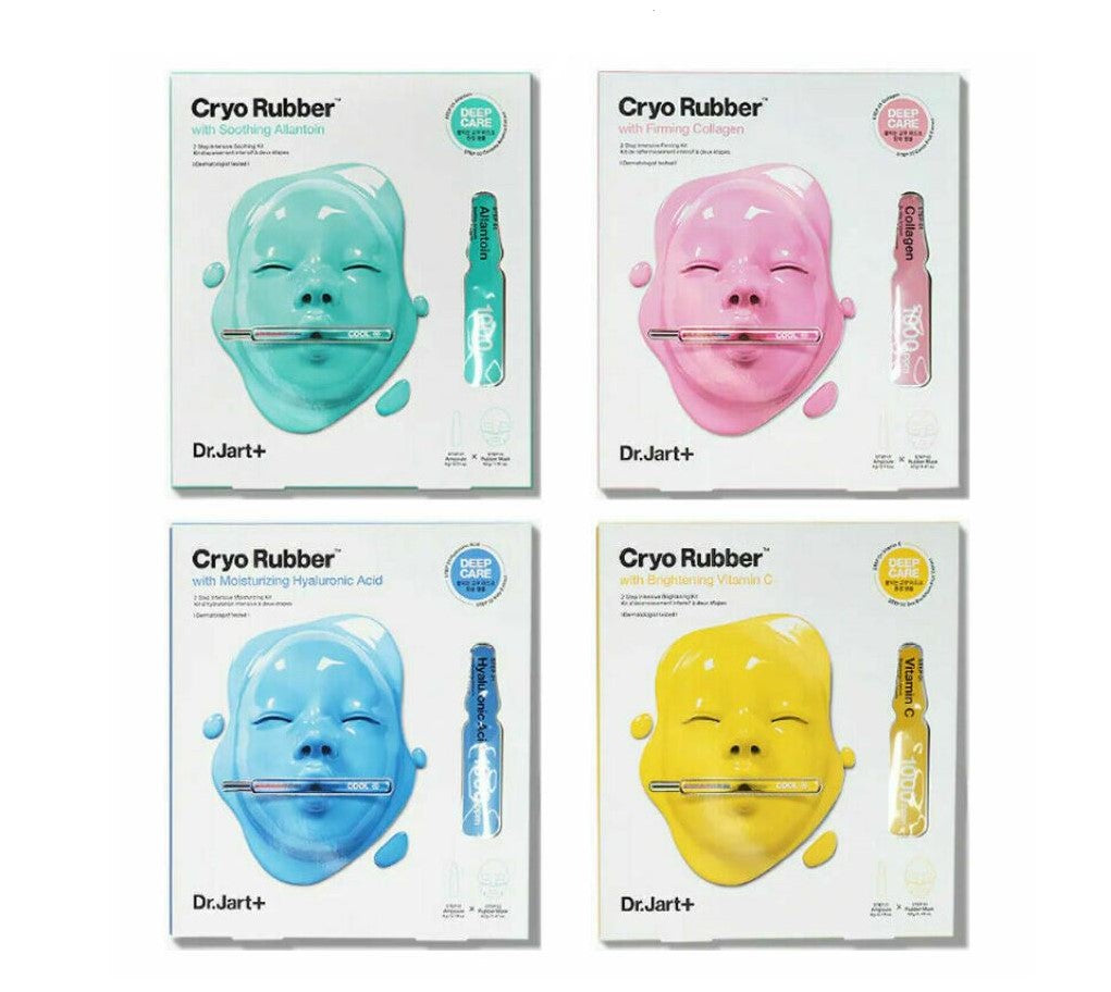 Cryo Rubber Mask (4 types)