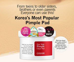 One Step Pimple Clear Pads 70pcs