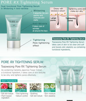 Double Effect Pore RX Tightening Serum 30ml