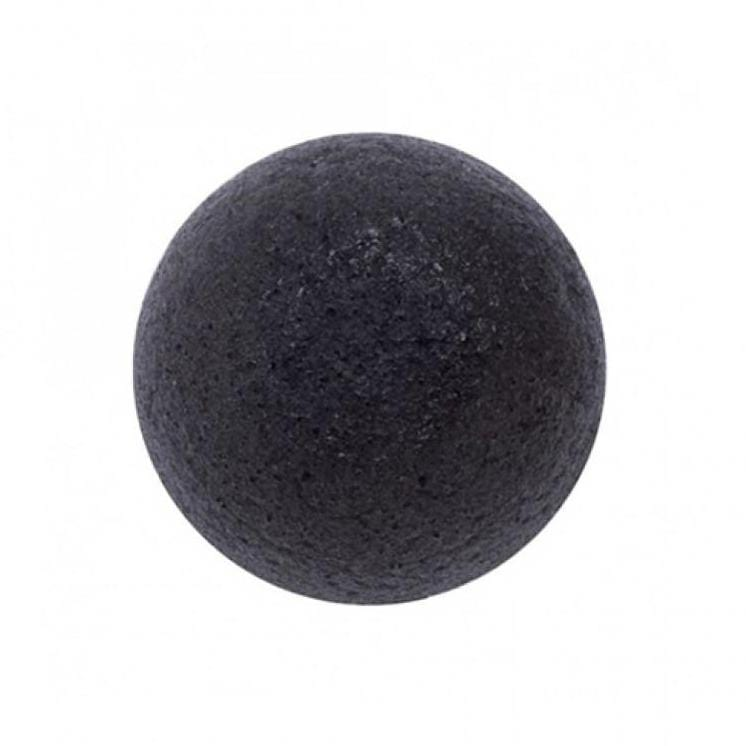 Eonnii Natural Konjac Soft Cleansing Puff Charcoal - Ginger Cosmetics