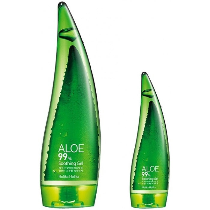 Holika Holika Aloe 99% Soothing Gel 55ml/ 250ml - Ginger Cosmetics