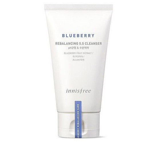Innisfree Blueberry Rebalancing 5.5 Cleanser 100ml - Ginger Cosmetics