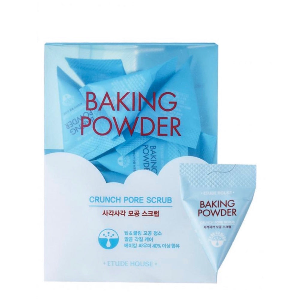 Etude House Baking Powder Crunch Pore Scrub 1pcs - Ginger Cosmetics