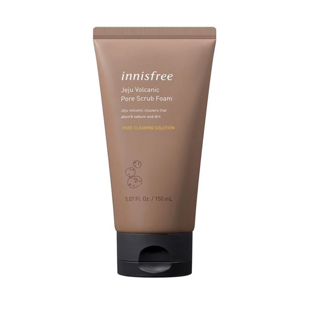 Innisfree Jeju Volcanic Pore Scrub Foam 150ml - Ginger Cosmetics