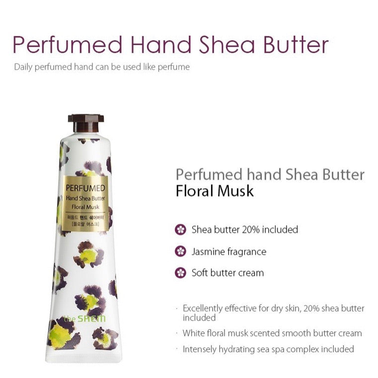 The SAEM Perfumed Hand Shea Butter 30ml (5 scents) - Ginger Cosmetics