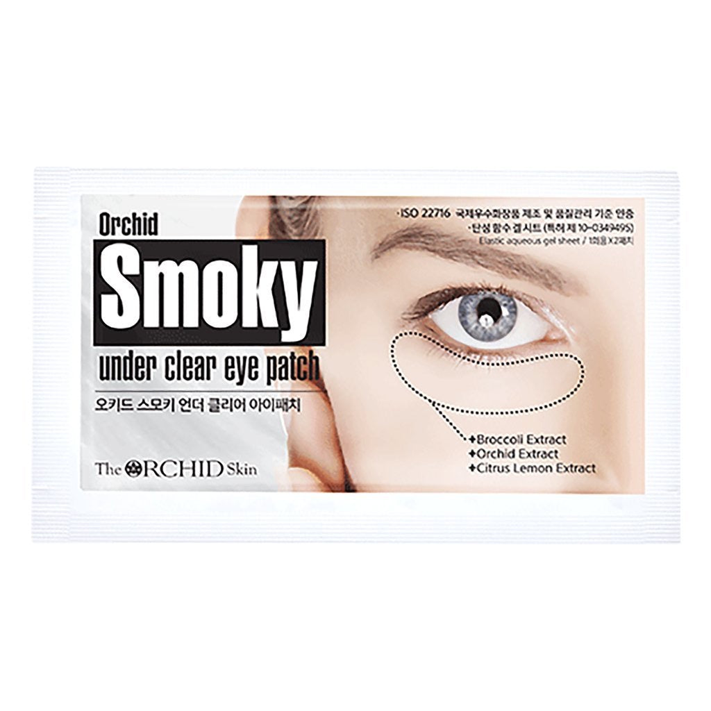 The Orchid Smoky Under Clear Eye Patch 1pcs - Ginger Cosmetics