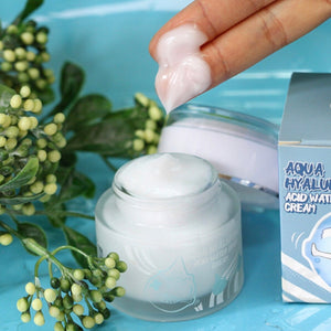 Elizavecca Aqua Hyaluronic Acid Water Drop Cream 50ml - Ginger Cosmetics