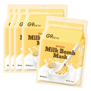 G9SKIN Milk Bomb Mask (4 types) - Ginger Cosmetics