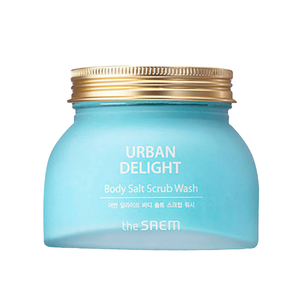 The SAEM Urban Delight Body Salt Scrub Wash 320g - Ginger Cosmetics