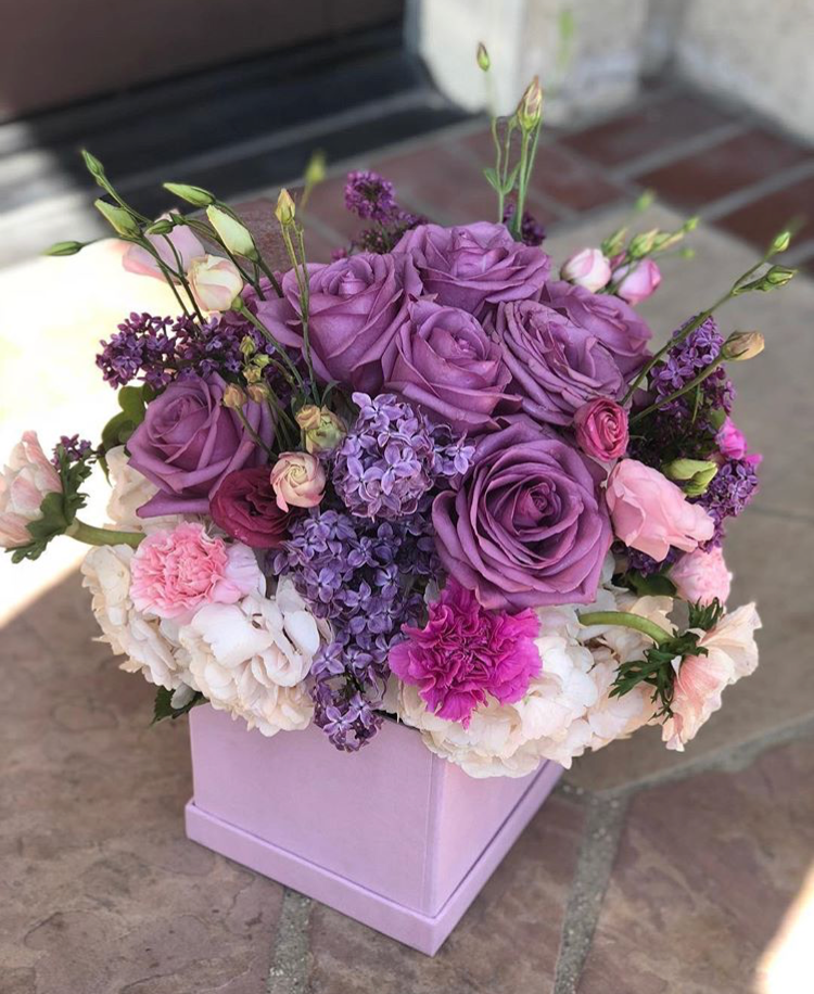 Purple Bloom Box