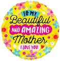 Amazing Mother Circular Balloon