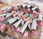 Single Wrapped Roses