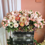 Raunculas and Dahlias Arrangement