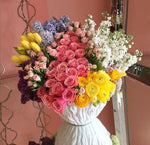 Raunculas and Roses Arrangement
