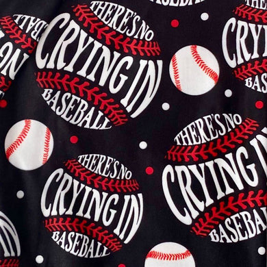 Baseball Moms! Their Biggest Fan! Super SOFT Yoga Band Leggings OS TC No Crying In Plus rts - Pretty Please Leggings