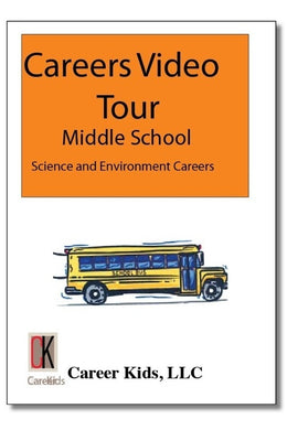 Science & Environment - Careers Video Tour Middle School 1st Edition