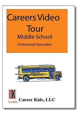 Professional Specialties - Careers Video Tour Middle School 1st Edition