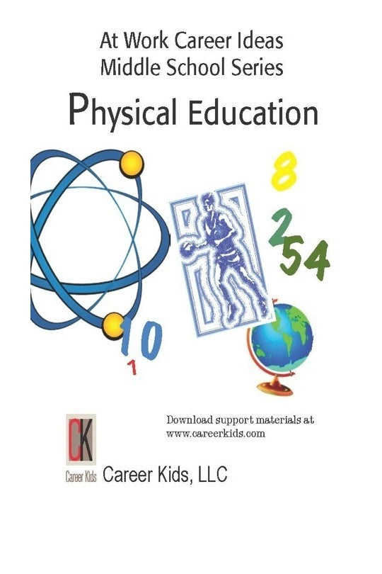 At Work Physical Education, Middle School DVD