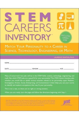 STEM Careers Inventory, sets of 25