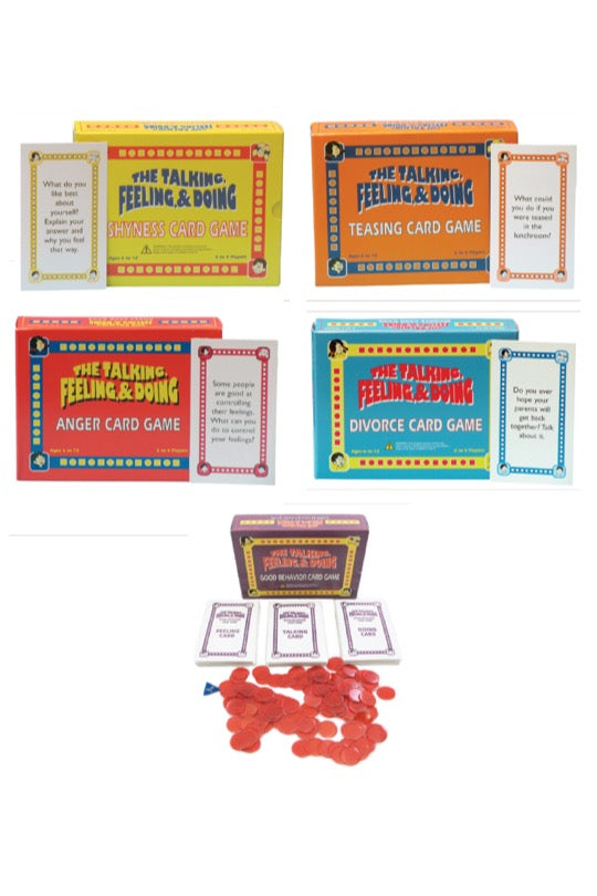 The Talking, Feeling & Doing Card Game Set