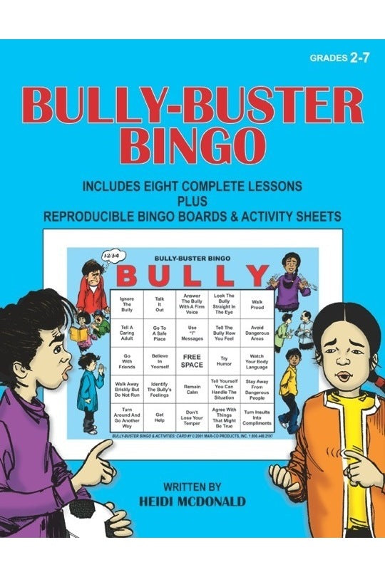 Bully Buster Bingo with CD & Lesson Guide