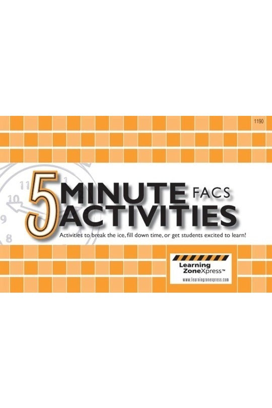 5 Minute FACS Activities for Grades 6-12