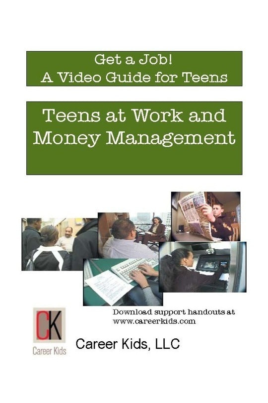 Teens at Work and Money Management DVD Middle-High School (cc)