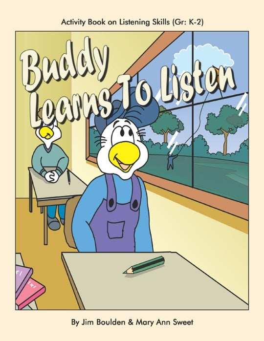 Buddy Learns to Listen Student Involvement Pack