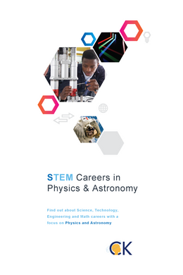 STEM Careers in Physics & Astronomy