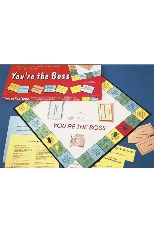 You're the Boss Career Exploration Game