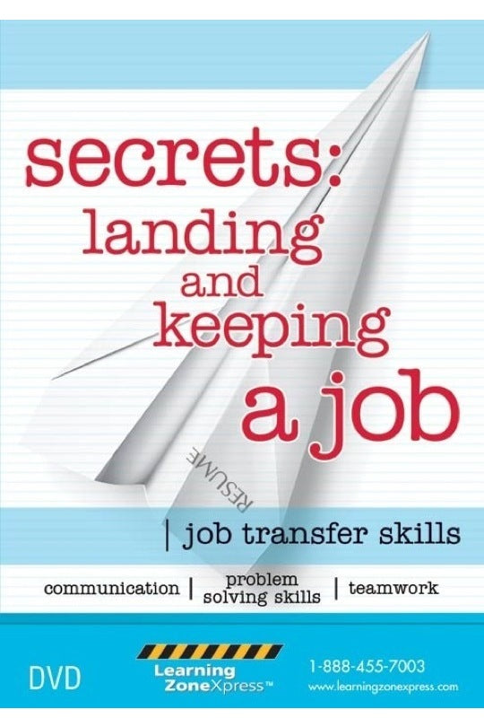 Secrets: Landing and Keeping a Job DVD, Gr. 9-adult