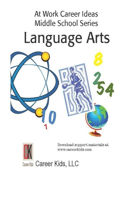 At Work Language Arts Middle School DVD