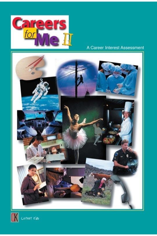 Careers For Me II - Interest Assessment for Grades 3-7 Pack of 25