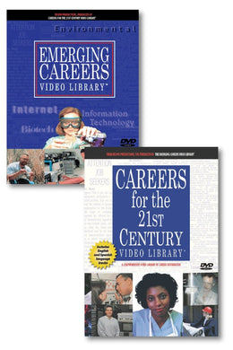 Careers for the 21st Century & Emerging Careers Video Library (26 videos)