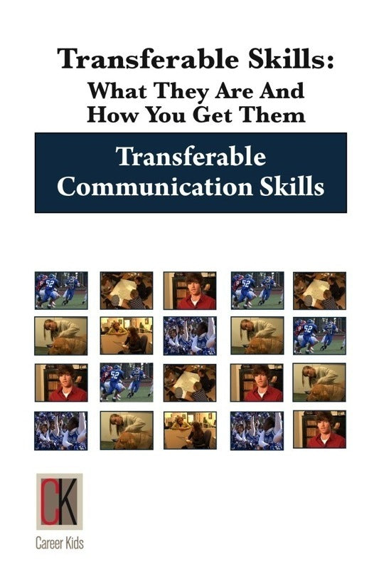 Transferable Communication Skills DVD for High school through adult