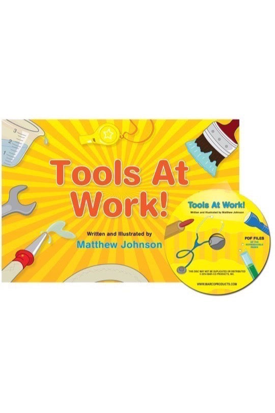 Tools At Work! Storybook with CD