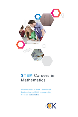 STEM Careers in Mathematics