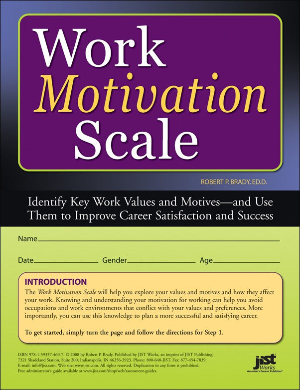 Work Motivation Scale