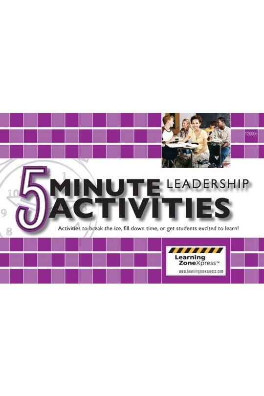 5 Minute Leadership Activities Grades 6-12