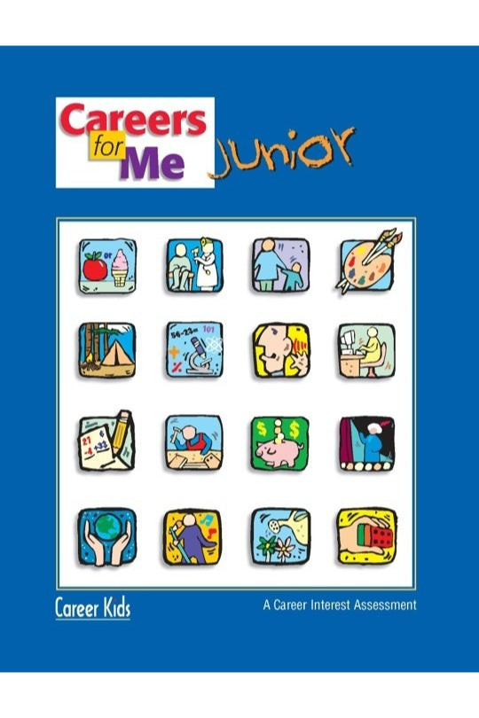 Careers For Me Junior Career Interest Assessment For Grades K 3 Pack Career Kids