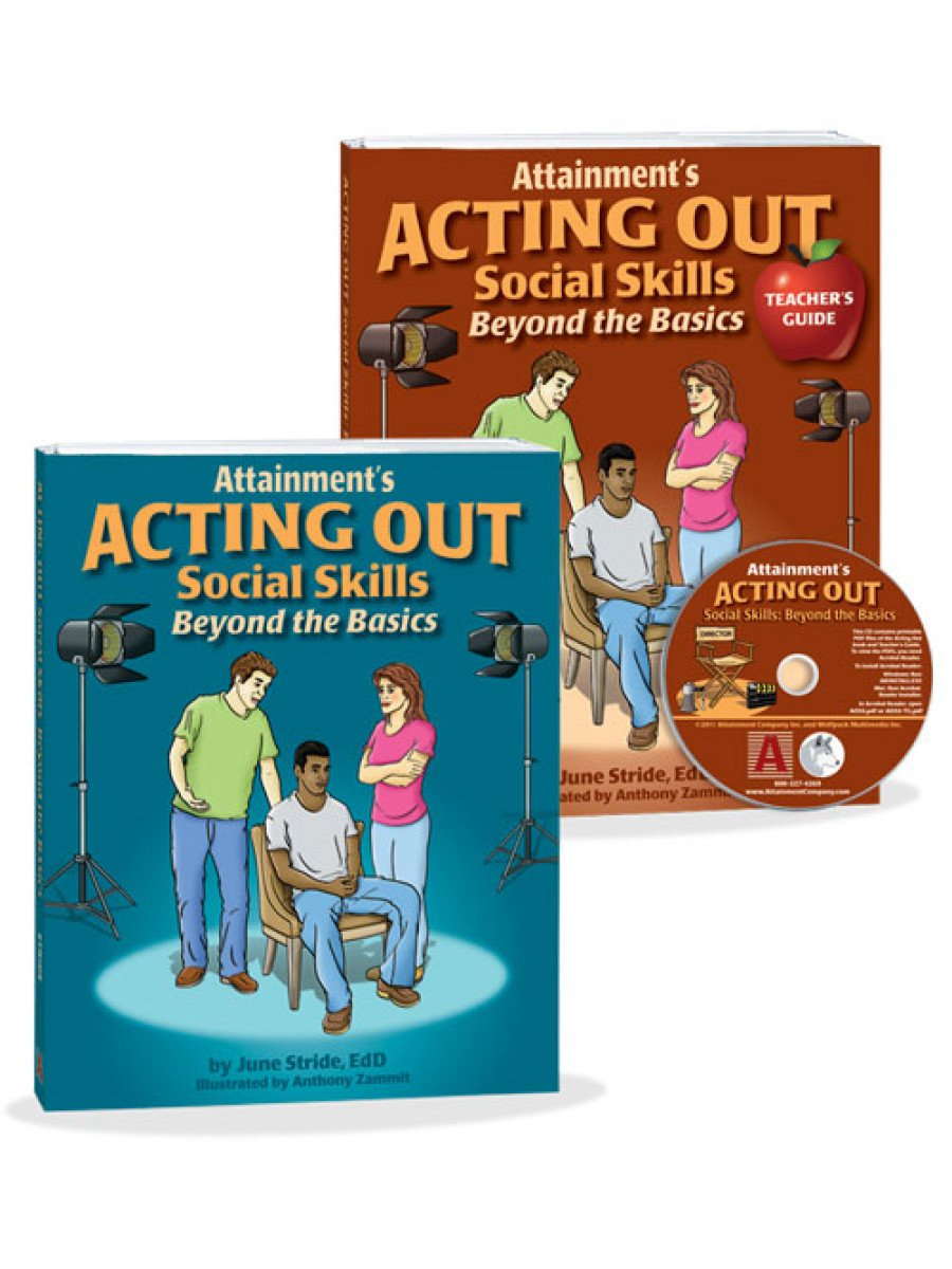 Acting Out Workplace Social Skills Classroom Kit
