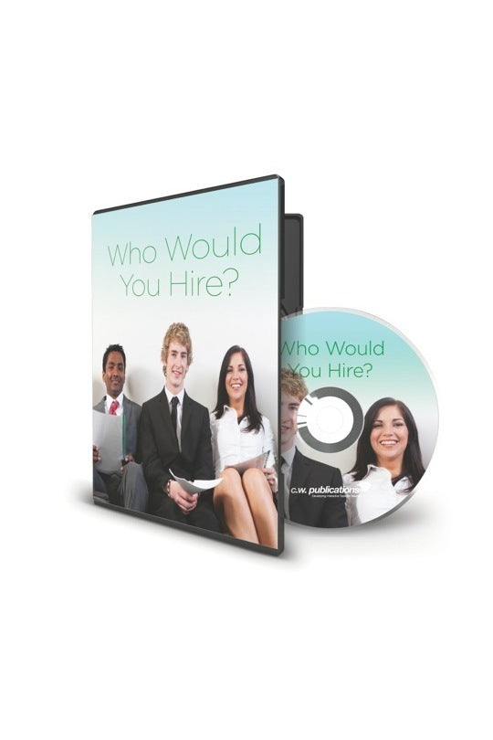 Who Would You Hire? DVD (cc)