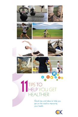 11 Tips To Help You Get Healthier