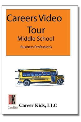 Business Professions - Careers Video Tour Middle School 1st Edition