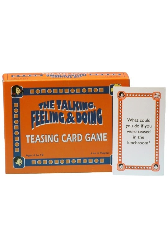 The Talking, Feeling & Doing Teasing Card Game