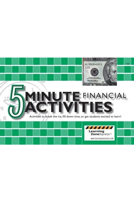 5 Minute Financial Activities for Grades 6-12
