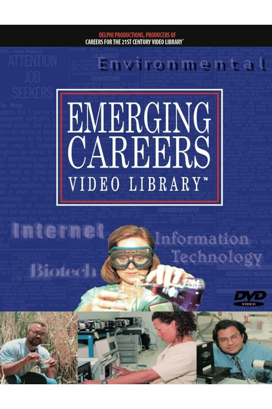 Emerging Careers Video Library-Career Exploration DVDs, Gr. 7-Adult (cc)