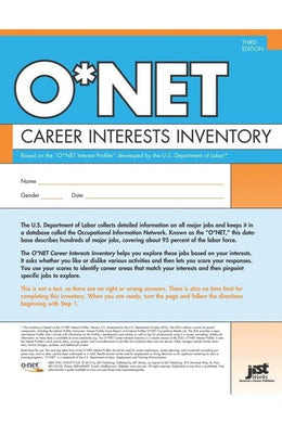 O*NET Career Interests Inventory, Pack of 25