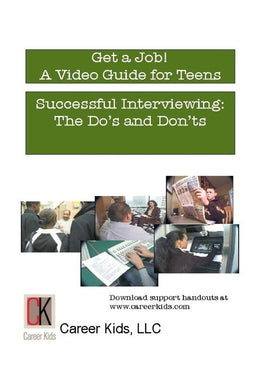 Successful Interviewing: The Do's and Don'ts DVD Middle-High School (cc)